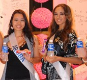 Primer evento en Miss Internacional 2011